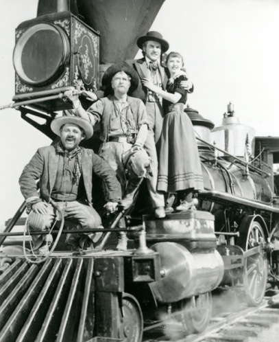 UNION PACIFIC (1939), directed by Cecil B. DeMille.
